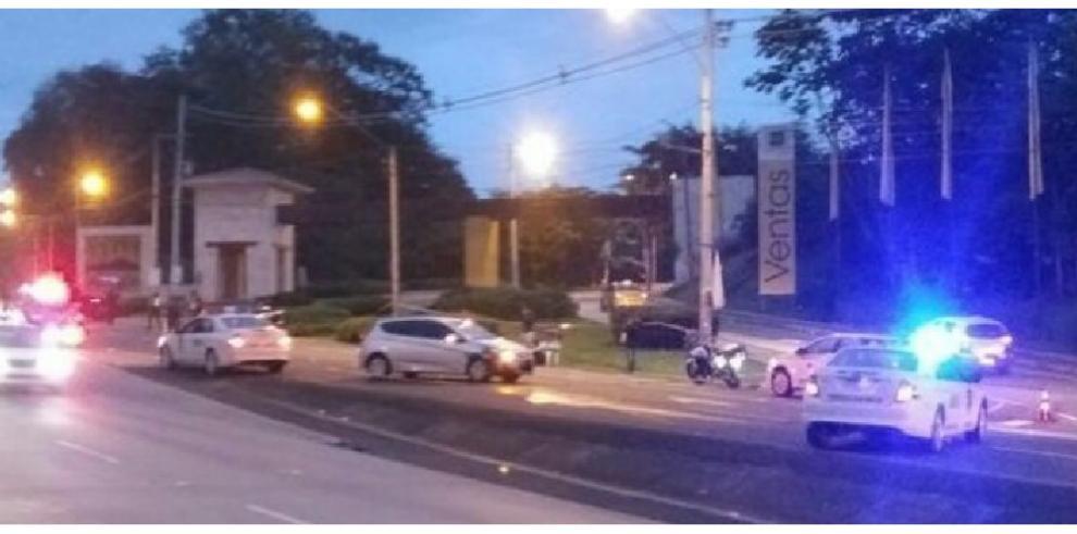 Muere unidad de la Policía tras ser atropellado en Arraiján