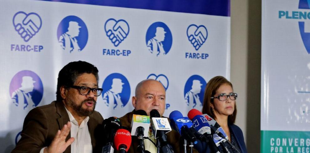 Las FARC anunciarán partido en septiembre