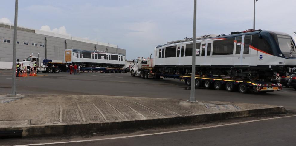 El Metro de Panamá anuncia la llegada de un nuevo tren