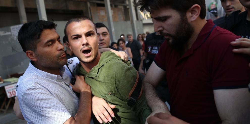 La policía turca impide la Marcha del Orgullo Gay en Estambul