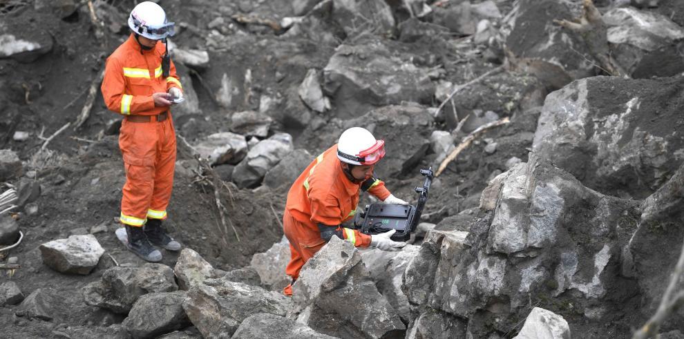 Gobierno de Panamá se solidariza con China ante deslave
