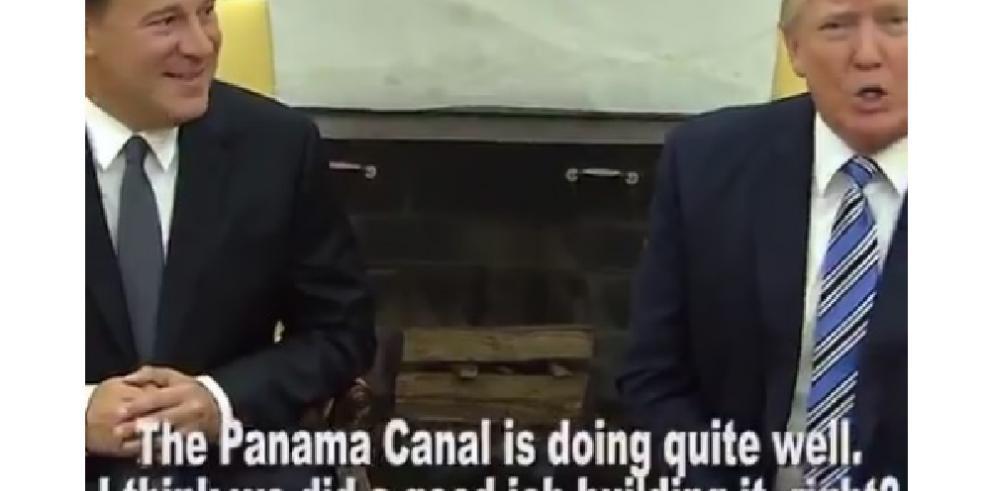 Trump y el Canal de Panamá generan mofa en las redes sociales