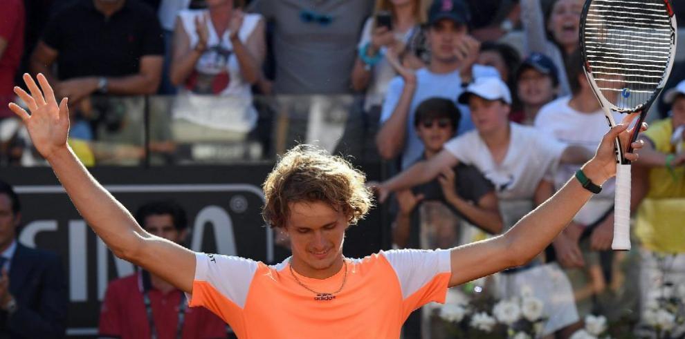 Zverev hace historia al vencer a Djokovic