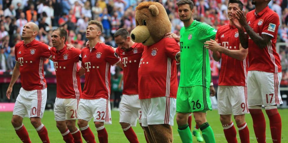Bayern, sin Neuer, Thiago y Müller, recibe al Hoffenheim