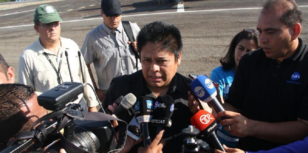 Helicóptero de hijo de Martinelli llega a Panamá