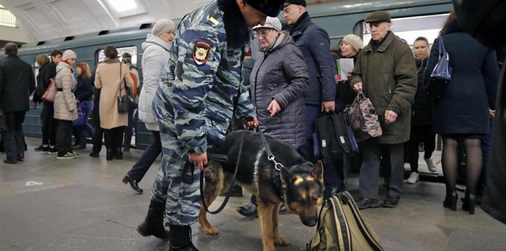 Autoridades apuntan a terrorista suicida en atentado en San Petersburgo