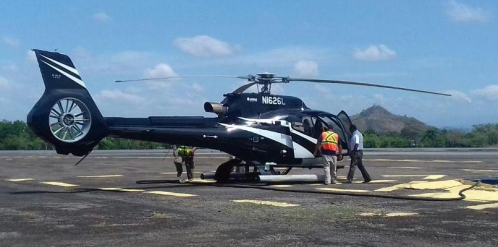 Helicóptero de la familia Martinelli es puesto a órdenes del MEF