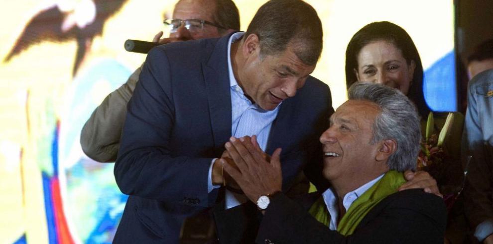 Líderes de la región felicitan victoria de Lenín Moreno