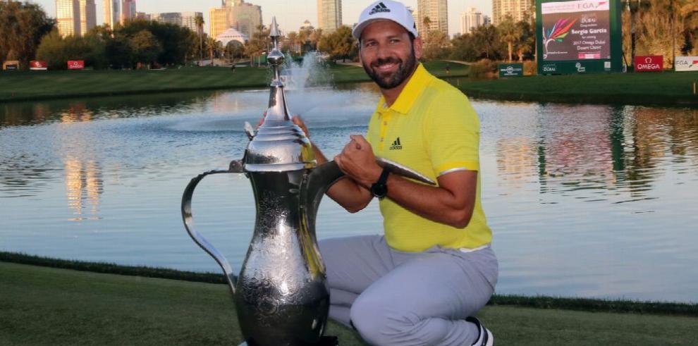 Sergio García triunfa en Abierto de Dubai