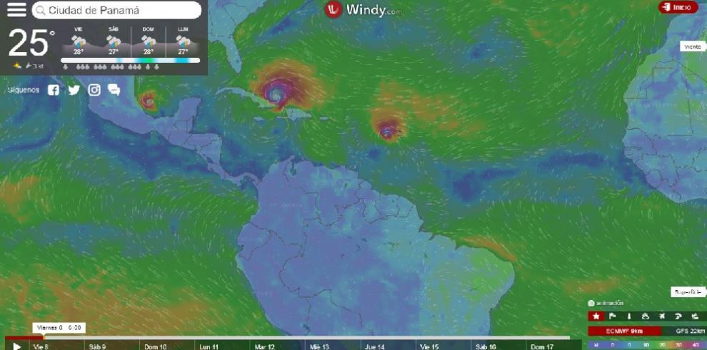 Irma pierde algo de fuerza a su llegada al sur de Bahamas