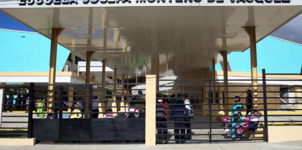 Presidente Varela inaugura primera escuela de su gobierno