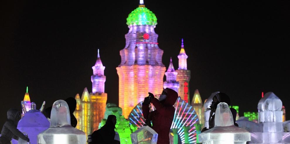 China inaugurará el día de Navidad el mayor parque de hielo y nieve del mundo