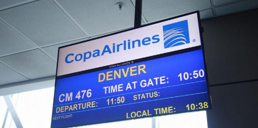 Copa inició operaciones de un vuelo a Denver desde Panamá