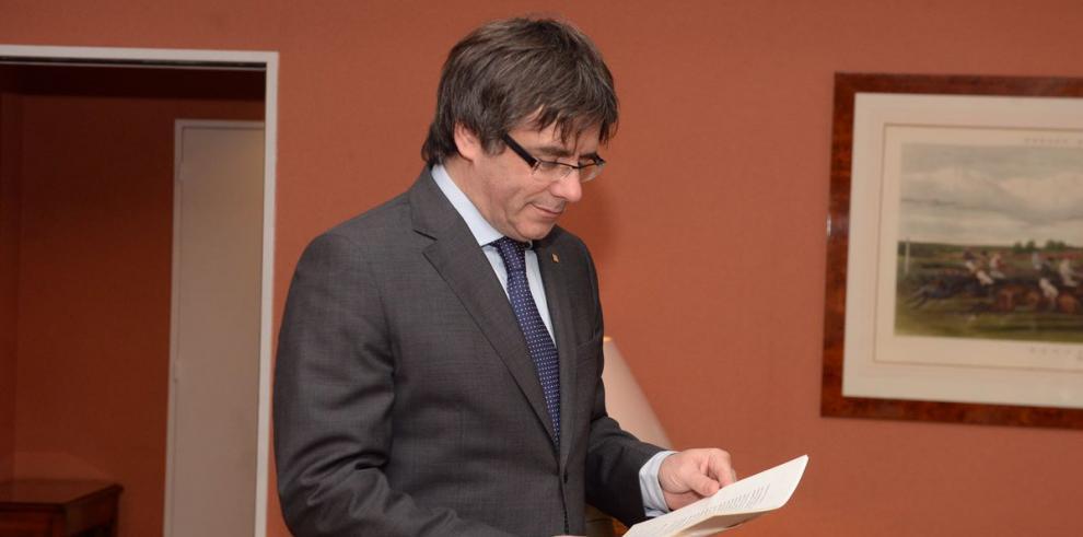 Puigdemont volvería a España para ser investido presidente catalán