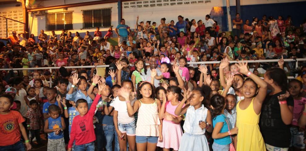 Continúan las actividades navideñas en San Miguelito