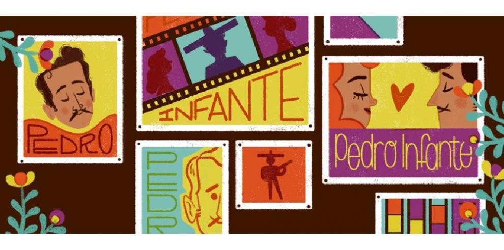 Google celebra el centenario del nacimiento de Pedro Infante