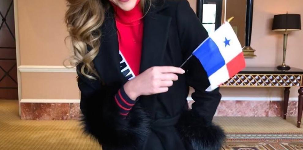 Miss Panamá ganó título de la Señorita Amistad en Miss Universo