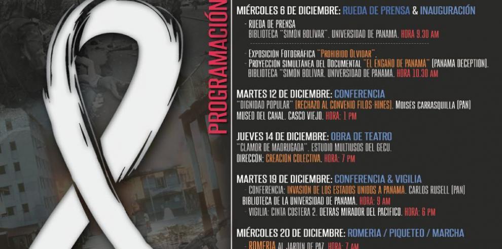 Movimientos sociales preparan jornada conmemorativa al 20 de diciembre