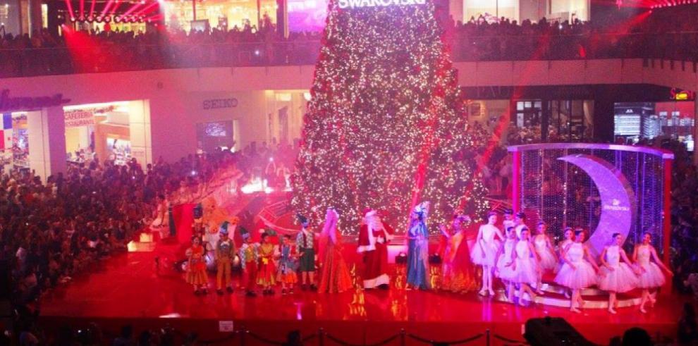La Navidad resplandeció con todo el brillo de Swarovski