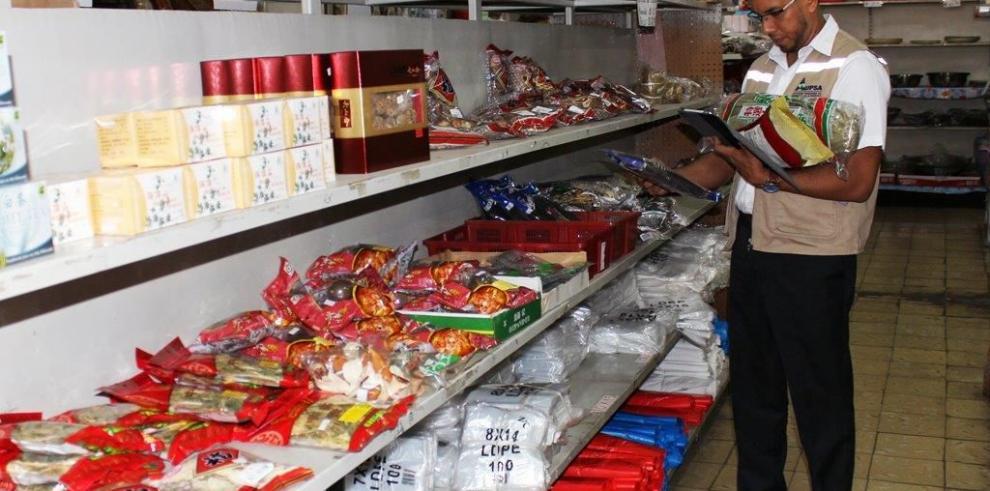 Detectan alimentos sin registro sanitario en La Chorrera