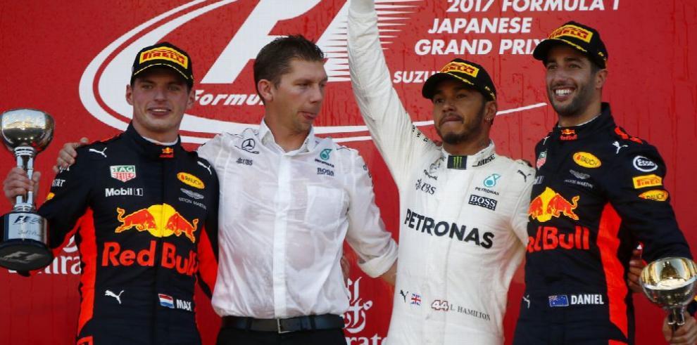 Ricciardo, rey de los adelantamientos en 2017