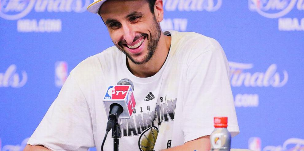 Ginóbili aún no sabe si se va o se queda con los Spurs
