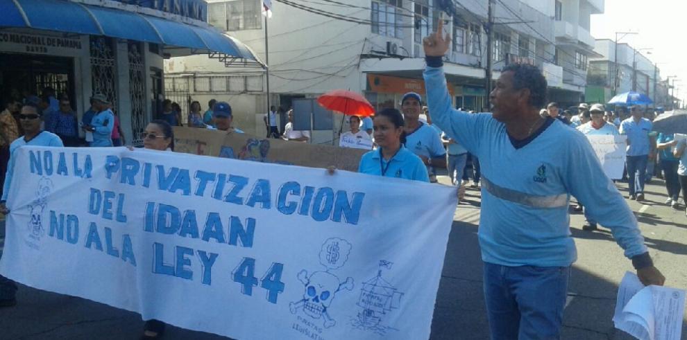 Trabajadores del Idaan denuncian plan de privatización