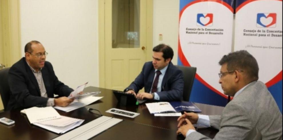 Concertación nacional presenta plan para el Estado