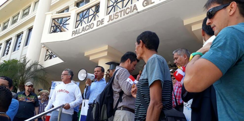 Sociedad civil protesta por el casoOdebrecht