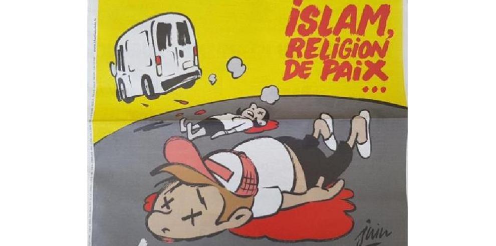 Charlie Hebdo criticado por su portada sobre el atentado de las Ramblas