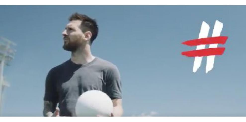 Cristiano, Messi, Pogba y Hegerberg encabezan la campaña
