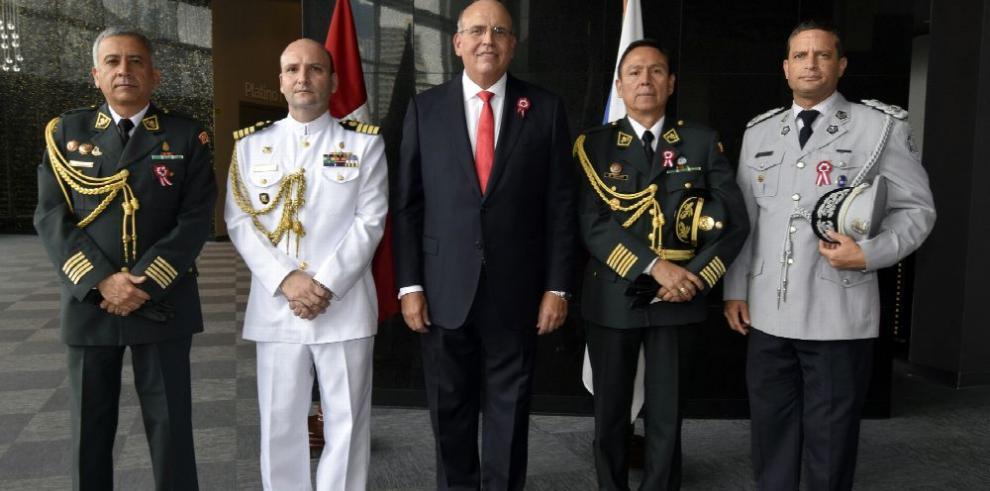 Fiesta por independencia del Perú