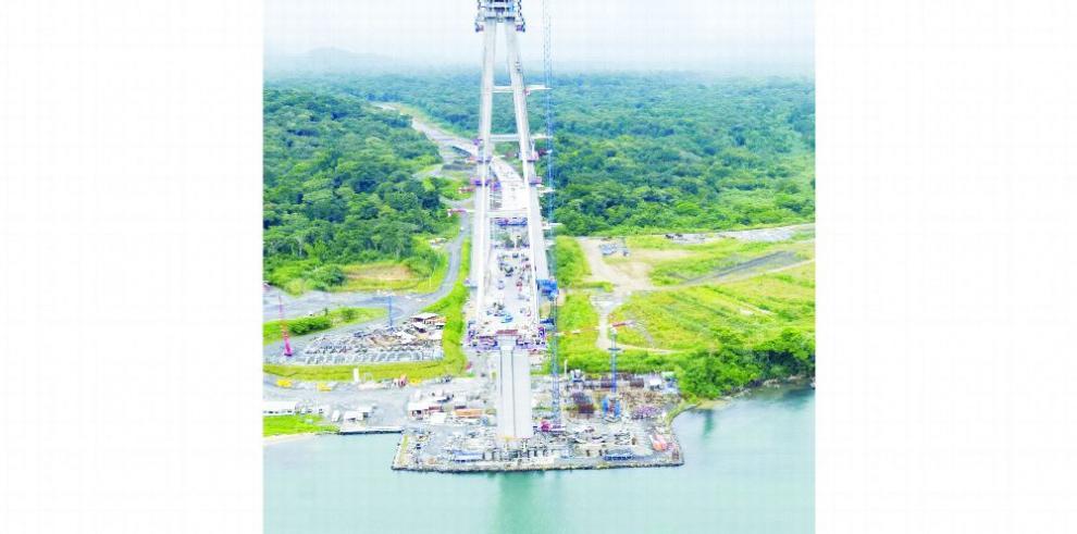 Construcción del tercer puente sobre el Canal avanza 76%