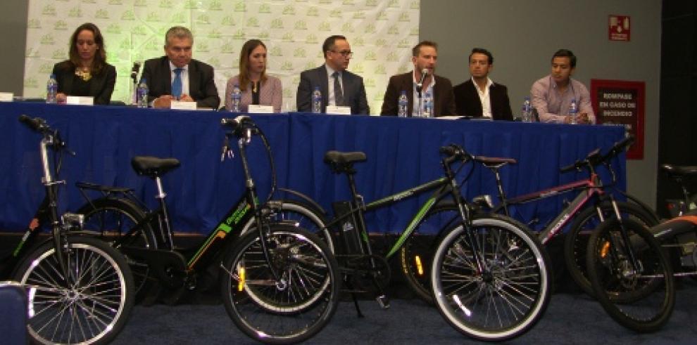 Bicicletas eléctricas llegan a Panamá