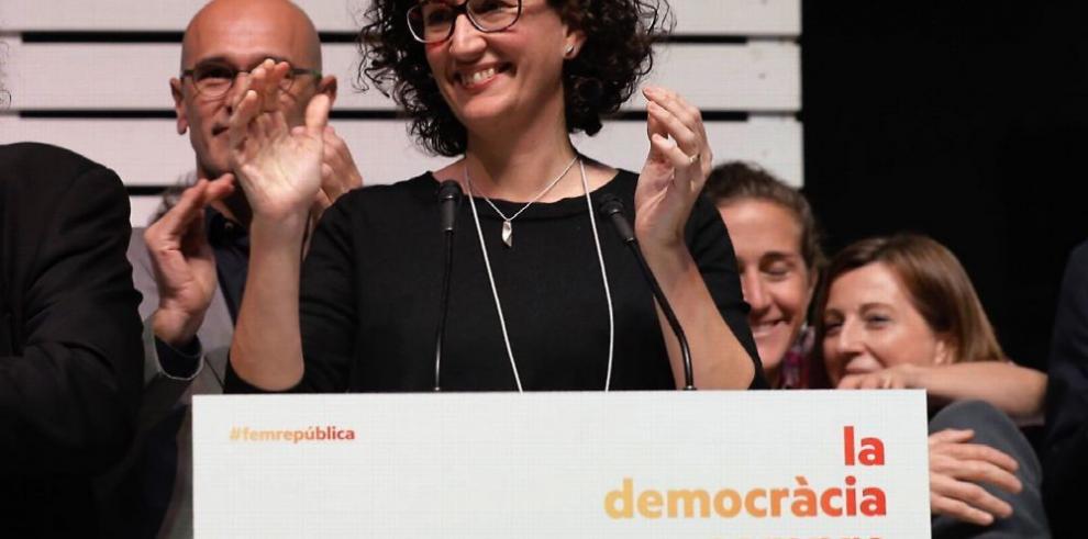 Independentismo catalán se alza con la mayoría absoluta