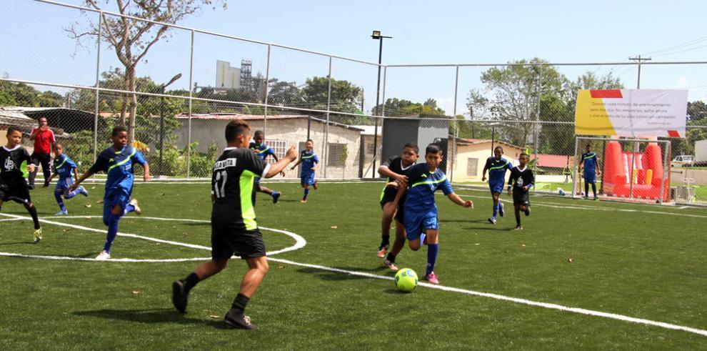 Pedregal cuenta con nuevo parque deportivo en Montería