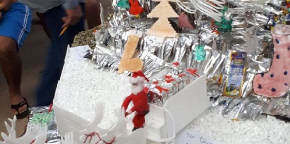 Reclusos del Centro Penitenciario de Chiriquí se sumaron a la navidad