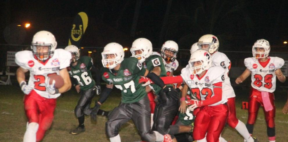 Eagles y Kolts, firmes en la Liga juvenil Kiwanis