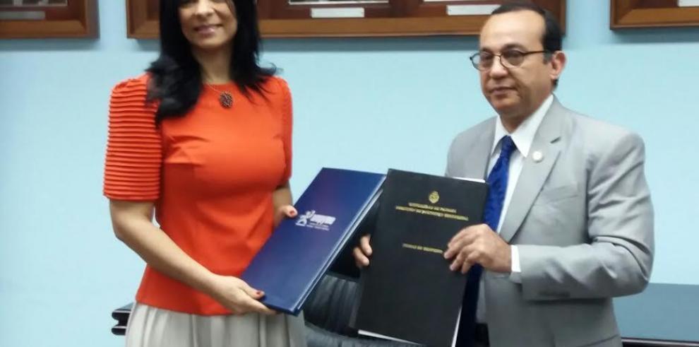 Ampyme y UP firman convenio para poner en marcha centros de atención Mipyme