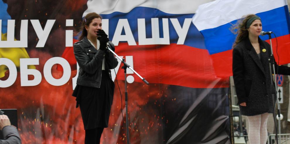 El arte de protesta del activista ruso Piort Pavlenski se exhibirá en Londres