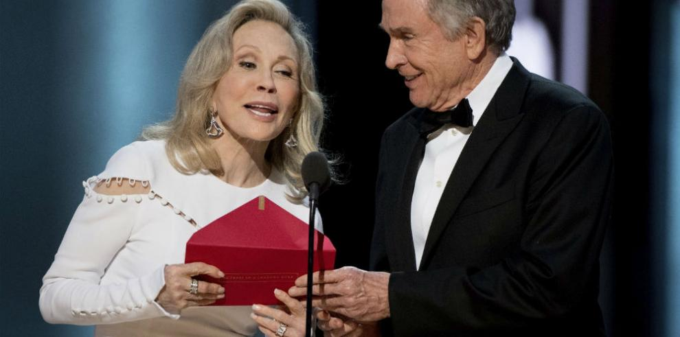 Los tropiezos de Warren Beatty y Faye Dunaway antes del gran error de los Óscar