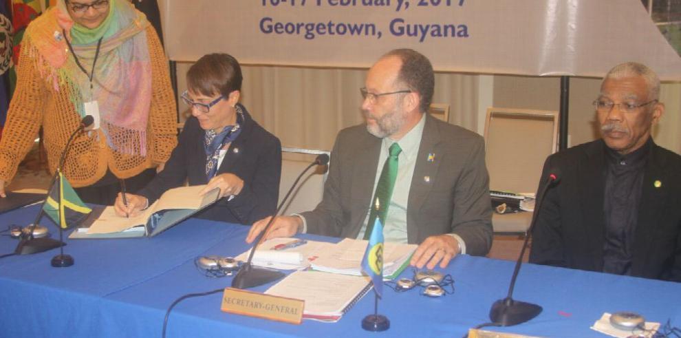 Caricom pide unión plena en el Caribe
