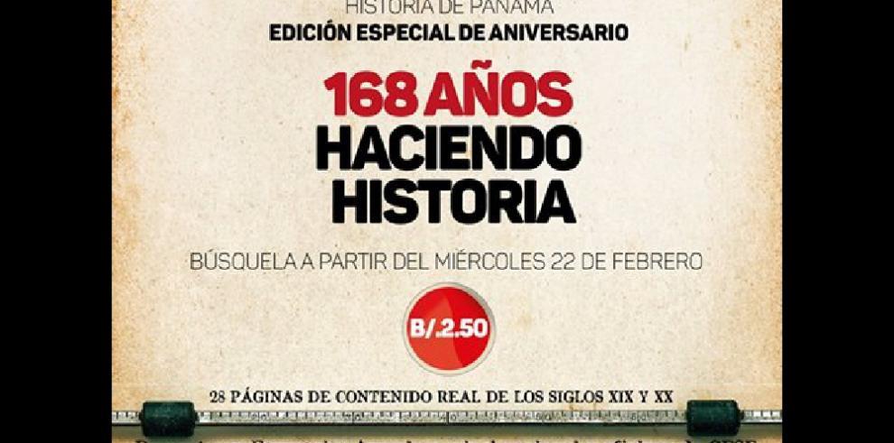 Compre hoy la edición especial histórica de 'La Estrella de Panamá'