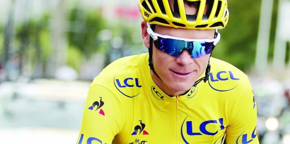 Froome, con potente equipo para saldar cuentas con la Vuelta