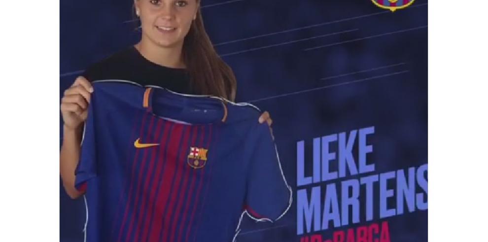 Lieke Martens, la guapa holandesa elegida mejor jugadora del año de la UEFA