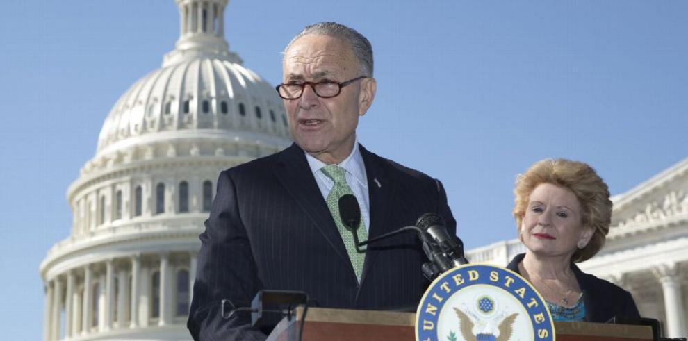 Demócratas bloquearán fondos para el muro