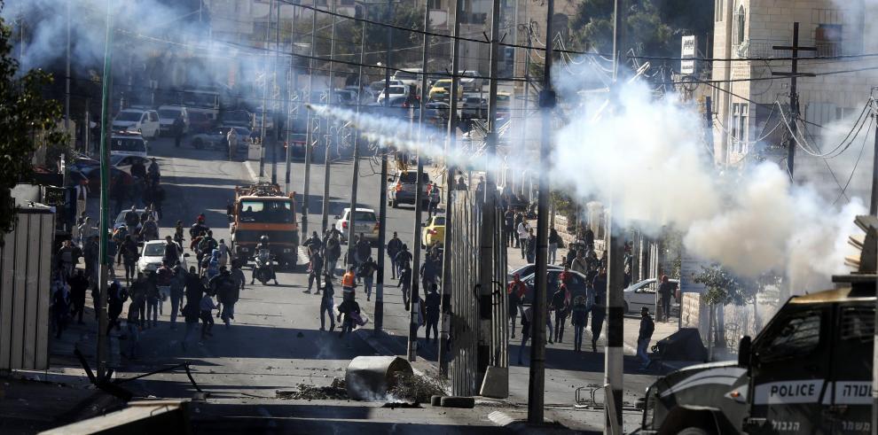 Israel mata a cuatro palestinos en protestas por medida de Trump sobre Jerusalén