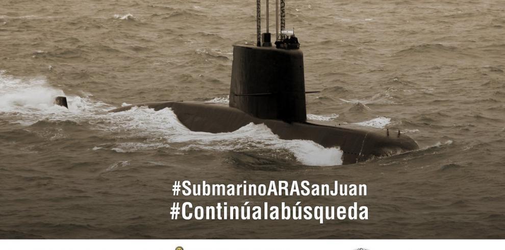 Argentina mantiene la búsqueda de submarino