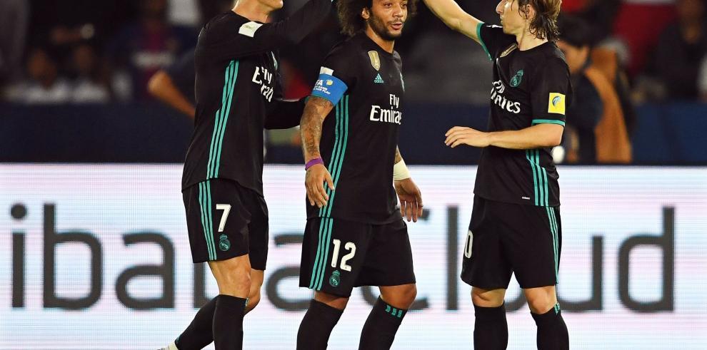 El Real Madrid sufre para clasificar a la final del Mundial de Clubes