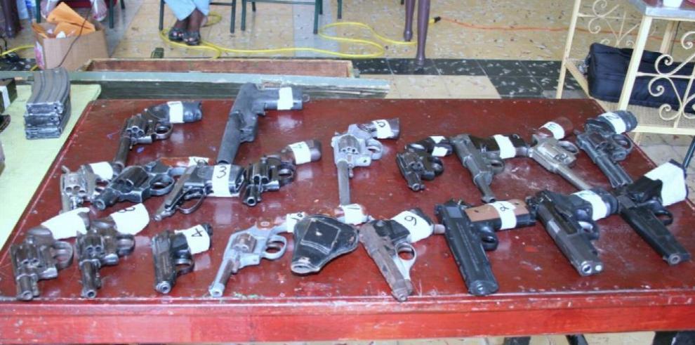 Importación de armas, prohibida